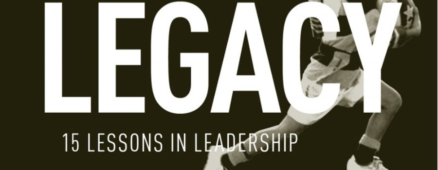 Legacy: A Must-Read for Coaches and Managers